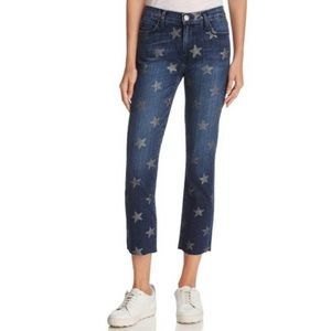 Current/Elliott The Slim Cropped Straight jean 27